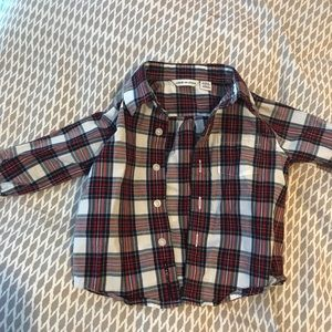 Janie and Jack infant boys button down